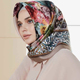 Satin Printed Hijab Fancy Muslim Hijab Scarf Latest Designs Beautiful Colorful Scarf Factory Wholesale Hijab