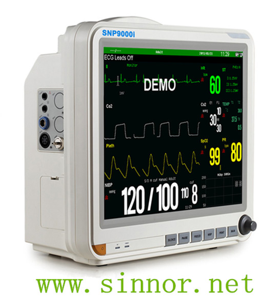 SNP9000i 15inch Hospital Operation room multi parameter Patient Monitor