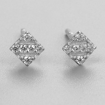 Cz Mens Earring Tanishq Twill Diamond Bijoux Stud Earrings Women Designs