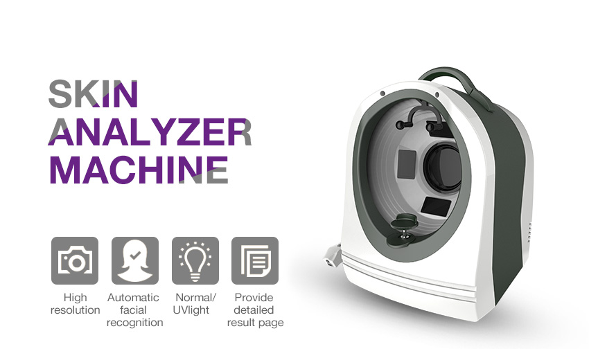 Skin Scanner Analyzer With Software For Skin Test Analysis