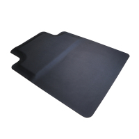 Black anti fatigue anti-slip mat office chair mat
