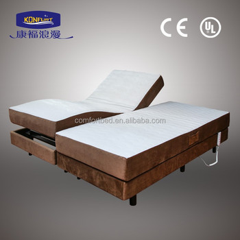 Soft Luxury Electric Adjustable Bed With Frame - Buy Adjustable Beds ...