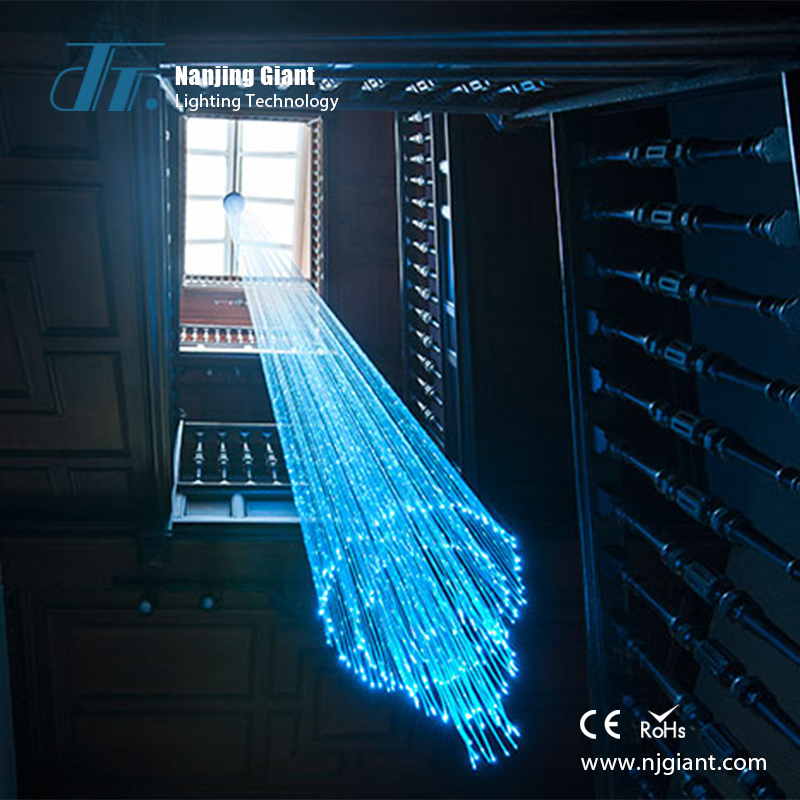 2016 Hall Pendant Crystal Chandelier Fiber Optic Night <strong>Lights</strong>