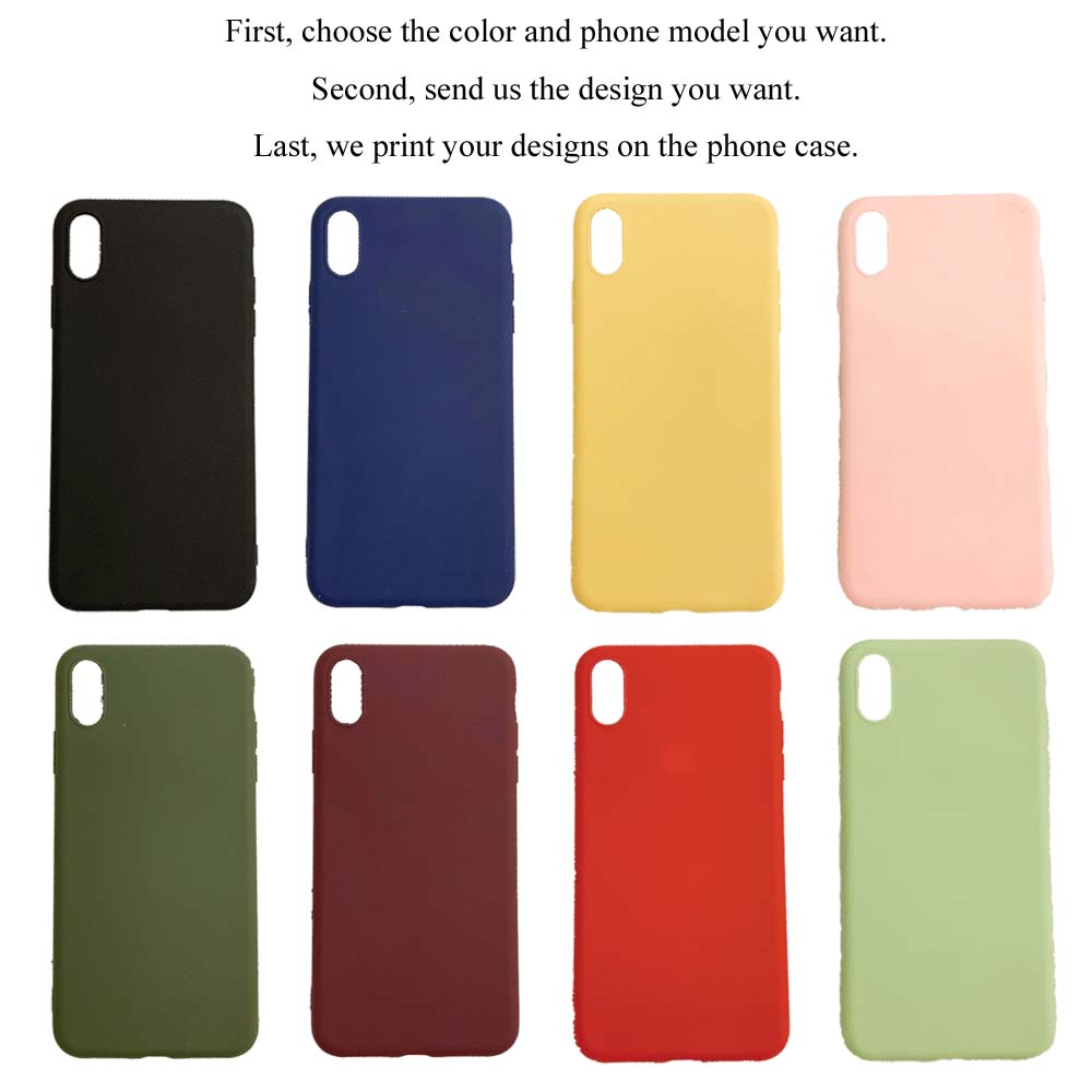 Express DHL Sheet Soft Cover for iPhone 12 mini 11 Pro Max X XS XR Max Case Mobile Custom Phone Case for iPhone 7 8 Plus SE 2020