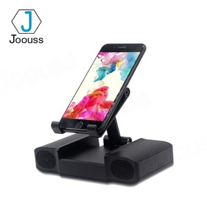 JOOUSS New arrival portable unique design mobile phone holder stand with speaker and power bank