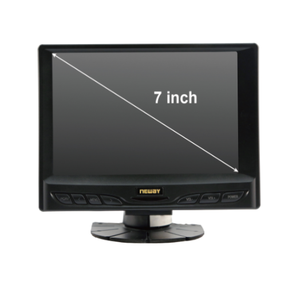 "Neway 7"" SKS cable Contrast 500:1 LED backlight 800*480 resolution Widescreen Monitor"