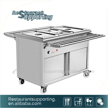Restaurant Kitchen Equipment Electric Bain Marie Food Warmer With ...
