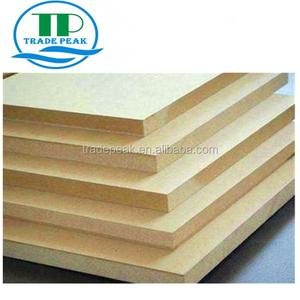 E0,E1, Melamine MDF board / plain MDF/ MDF board price 9MM-18MM