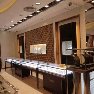 Luxury store jewelry display counter showcase jewelry furniture for sale