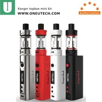 wholesale alibaba china supplier sell hot vaporizer Kanger TOPBOX Mini kit with Replaceable 18650 cell