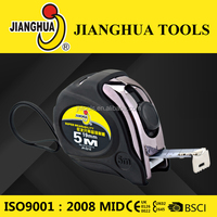 Top Factory Jianghua spring action reutrn useful for woodroom clear reading popular helping hand Tape Measure