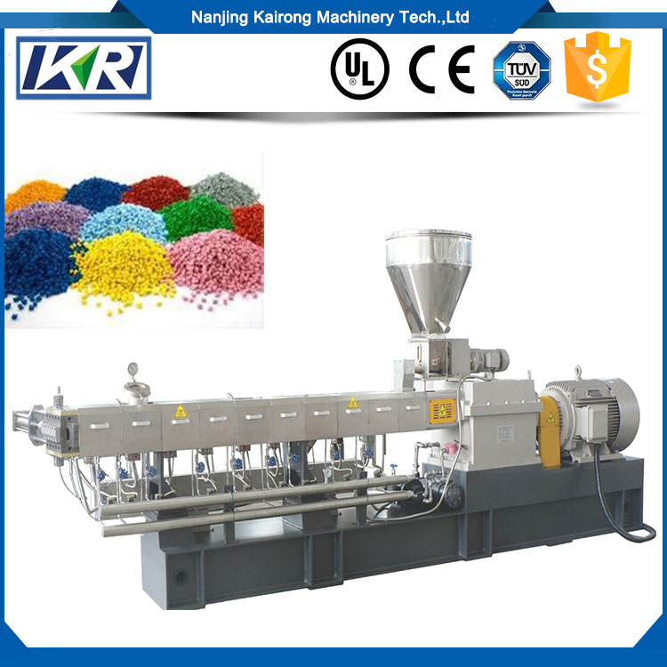 CPE ABS PP PA EPDM mixing twin screw extruder for polymer