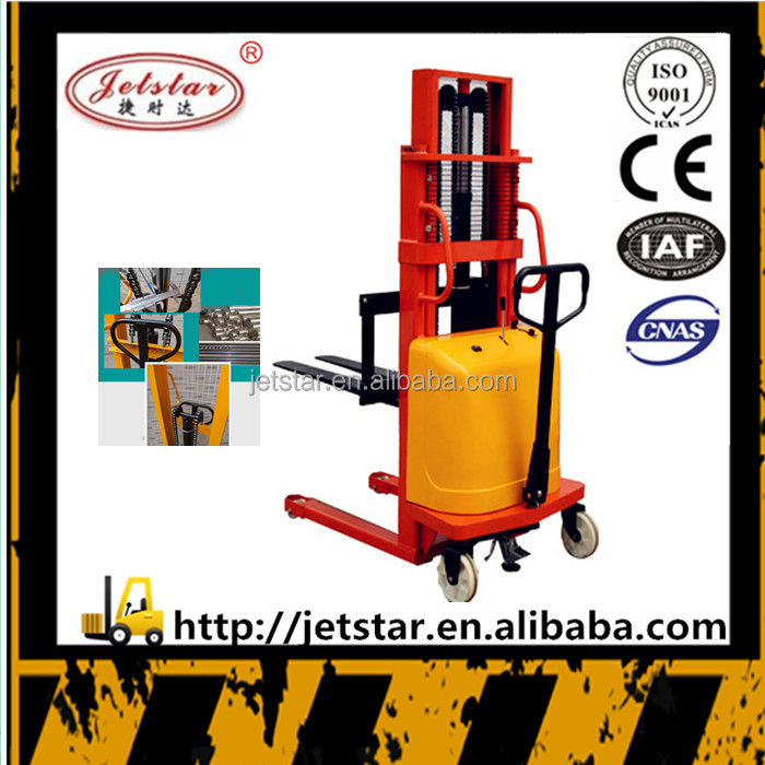 Made in china Mini high strength semi electric hydraulic fork lift