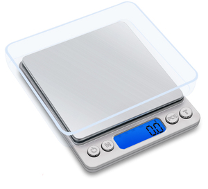 J&R Digital Commercial Balance Weighing Gram Scale 1kg 2kg 3kg 1000g 2000g 3000g 0.1g 0.01g