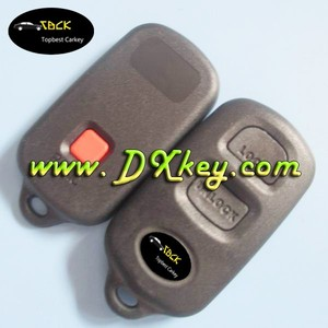 Best price car key holder for Toyota key fob 2+1 button car remote shell with logo