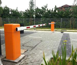 Middle East Top Selling Parking Lot Boom Barrier/Nice Automatic Straight Barrier Gate with Safety Sensors
