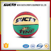 Ball type and PU ball material custom leather basketball ST1020 series
