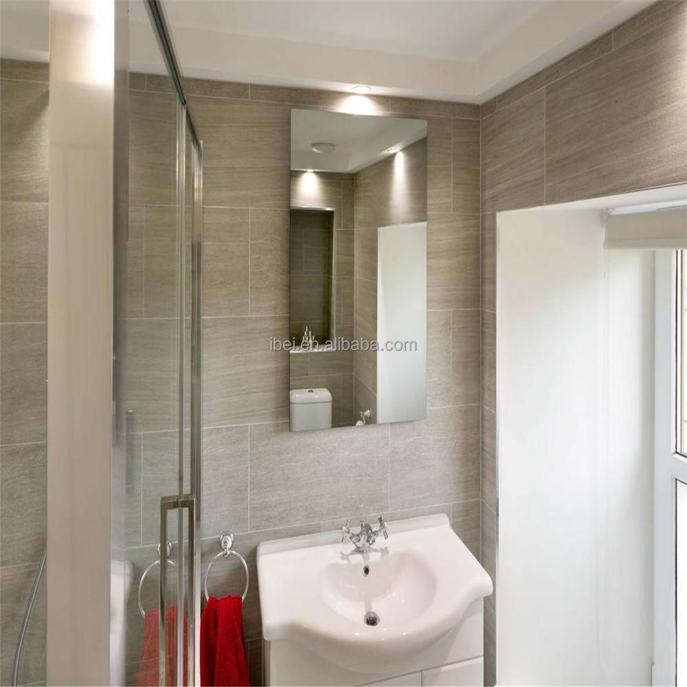 Infrarouge lointain miroir panneaux chauffants pour salle for Miroir chauffant prix