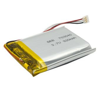 High quality 3.7v 920mAh rechargeable Li-po battery 703040