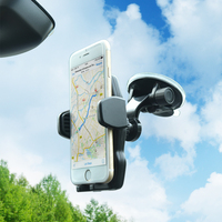 Universal 360 adjustable suction dashboard cellphone car mount holder for smartphone
