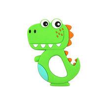 Маленький Прорезыватель для новорожденных, 24 месяцев, силиконовая игрушка в виде динозавра, Гутта перча(Китай)