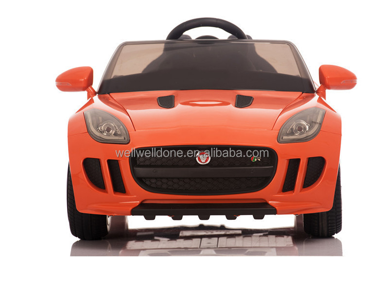Real Design Licensed Jaguar Ride On Toy Cars For Kids,With Music ...