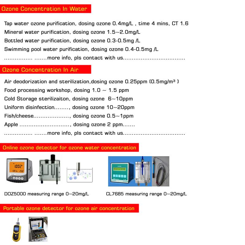 high performance 30g 40g ozonator purifier ozone generator water treatment