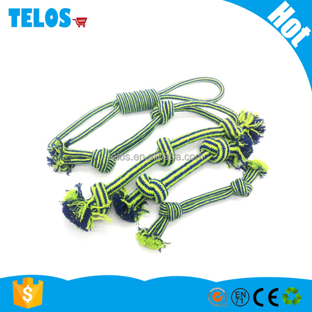 Pet Puppy Cotton Rope Dog knot Chews Toy