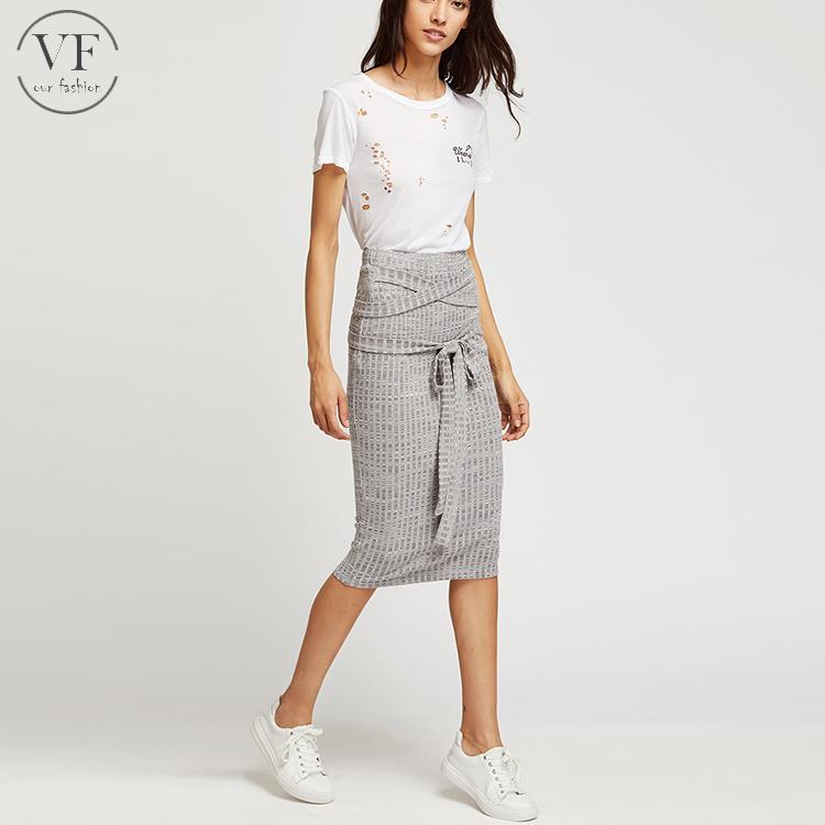 длинная обтягивающая юбка 5