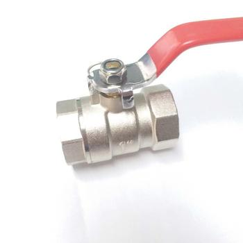 High Performance ppr Brass Ball Valve with Lock Water Meter