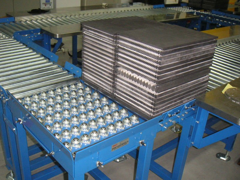 chinese ball roller conveyor table,turning working ball table cy-25a