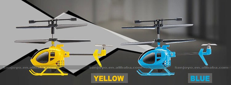 worlds smallest rc helicopter instructions