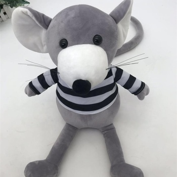 Mouse Stuffed Animal Plush Toy Wearing Clothes