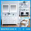 Homedee Cheap Wooden Cabinet Double Used Bathroom Vanity Cabinets