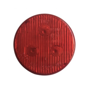 Emark DOT SAE 2 Inch led Trailer Truck Side Marker lights with pigtail plug