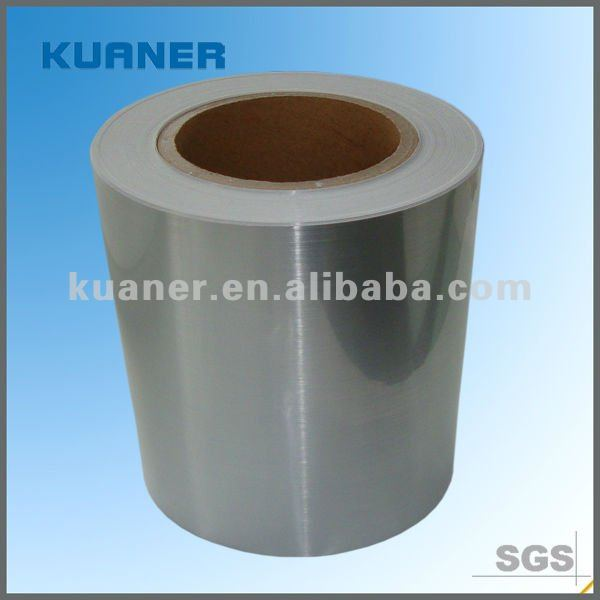 50 micron self adhesive Metallized PET with aluminium