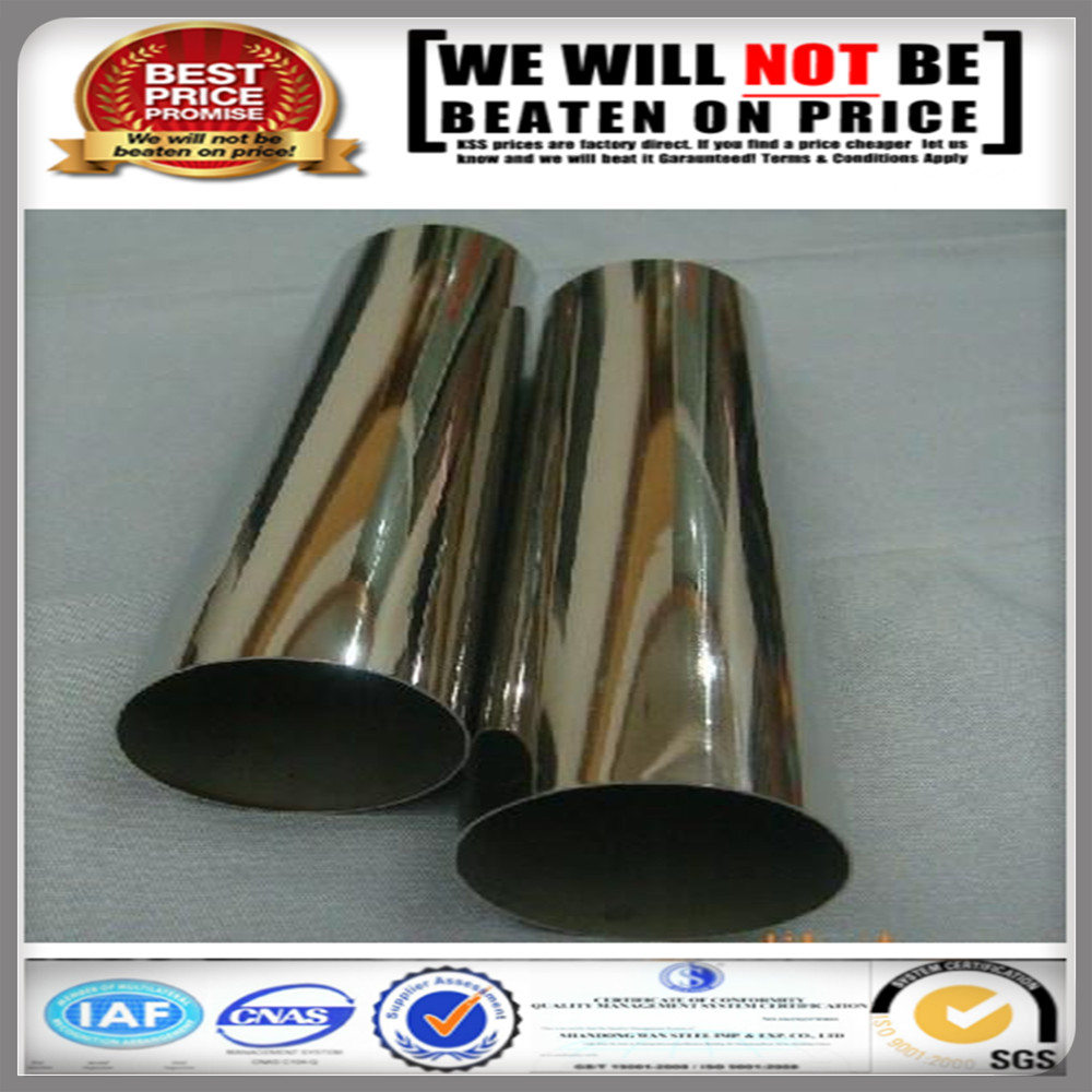 ASTM TP 316L stainless steel pipe AISI 304 304L stainless steel pipe/tube price