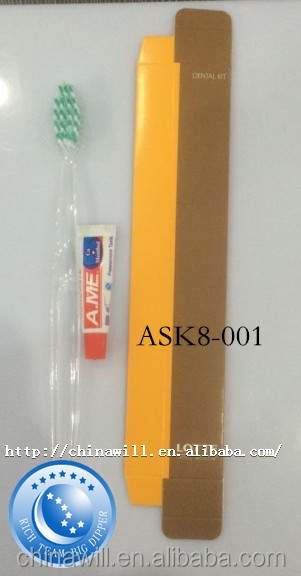 Cheap wholesale high quanlity hotel toothbrush and kit