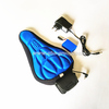 (hot selling)Cycling Bike 3D Silicone Gel Pad Seat Saddle Cover