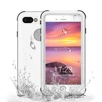 High Quality 360 Degree Protective Waterproof Cover Case for iPhone 7 8 Plus