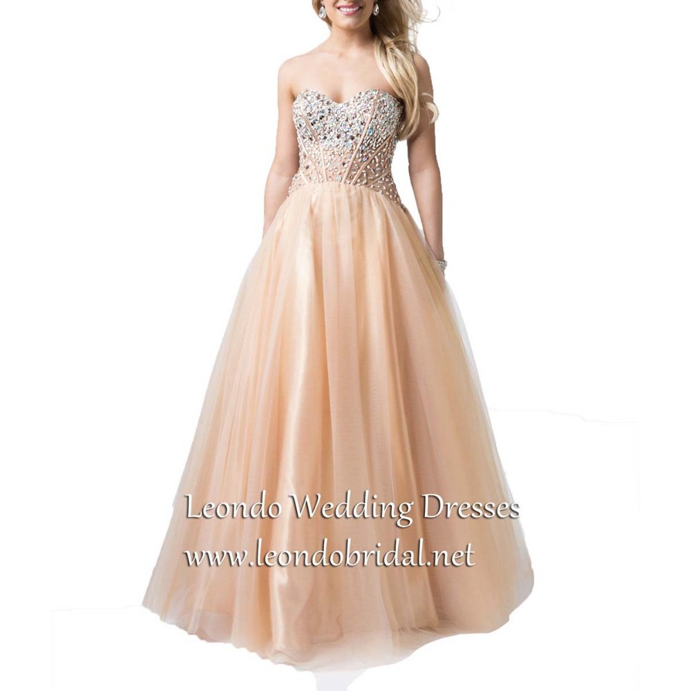Sparkle 2015 Spring/Summer Plus Size Custom Made Bead Long Sweetheart Sleeveless Organza Quinceanera Dresses