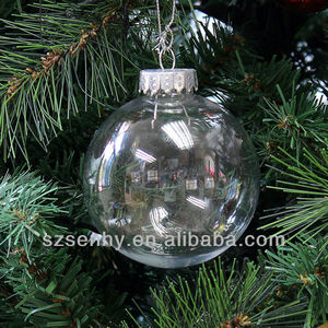 Clear Christmas Decoration Balls Clear Christmas Decoration Balls