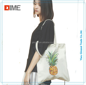 High Quality Cotton Fabric Tote Bags Woman Handbags In Stock