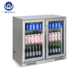 228L Commercial Hotel Flat Bar Cabinet Equipment for Drink or Beer Display
