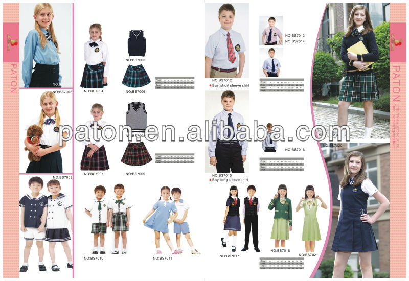England Style Private Plaid School Uniform Blazer Coat