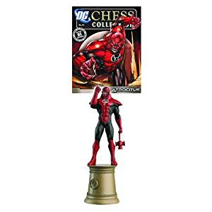 DC Superhero Atrocitus Black Bishop Chess Piece & Magazine by Eaglemoss Publications