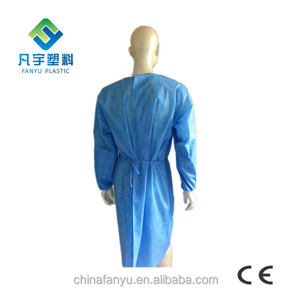 Disposable Tie Back Medical Sterile Doctor Dressing Gowns - Buy ...