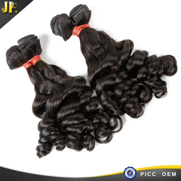 2015 latest rose curl hair style JP hair firm hair supplier in guangzhou
