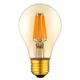 A60 Gold Glass 3W 5W 7W LED Filament E27 E26 LED Edison Bulb with CE and ROHS certificates