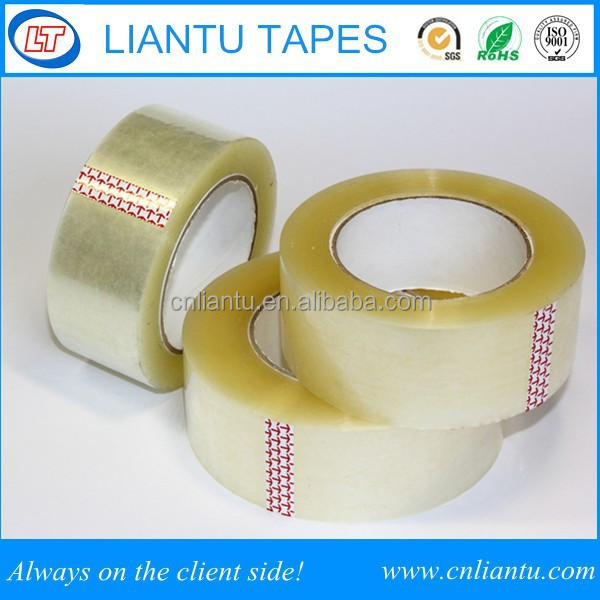 Tape - Clear Acrylic. 6 Rolls. 3 inches wide x 110 yards Length. 2.0 M Thickness